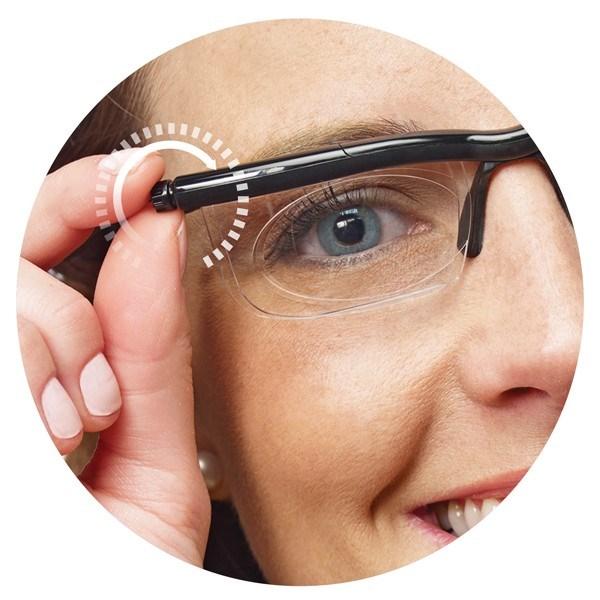 Adjustable Lens Reading Glasses