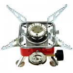 OUTDOOR PORTABLE CARD TYPE STOVE