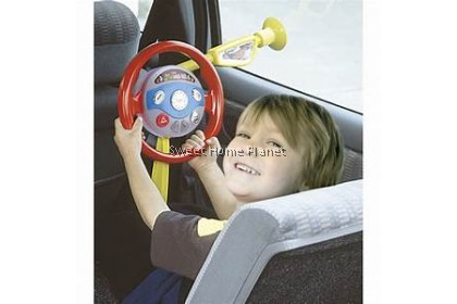 Kid's Electronic Backseat Driver With Light,Sound - Educational Toy