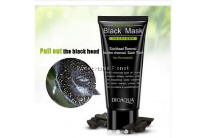 BIOAQUA Facial Blackhead Remover Bamboo Charcoal Mask 60g