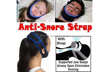 Unisex Sleeping Anti Snoring Belt Snore Stop Strap