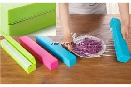 Food Wrap Dispenser Foil Wax Paper Cutter