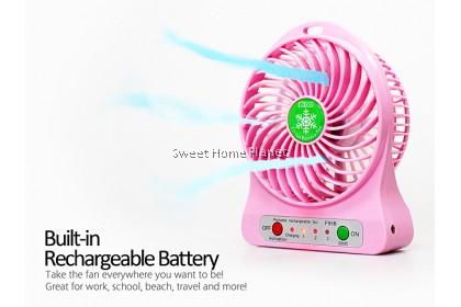 Rechargeable Portable Mini USB Fan