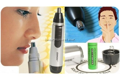 Electric Nose Ear Face Hair Removal Trimmer