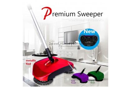 Premium 360 Degree Hand Push Rotation Sweeper