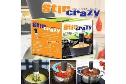Stir Crazy -  Automatic Hands Free Sauce Stirrer