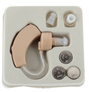 Behind the Ear Hearing Adjustable Amplifier Hearing Aid Enhancer Sound