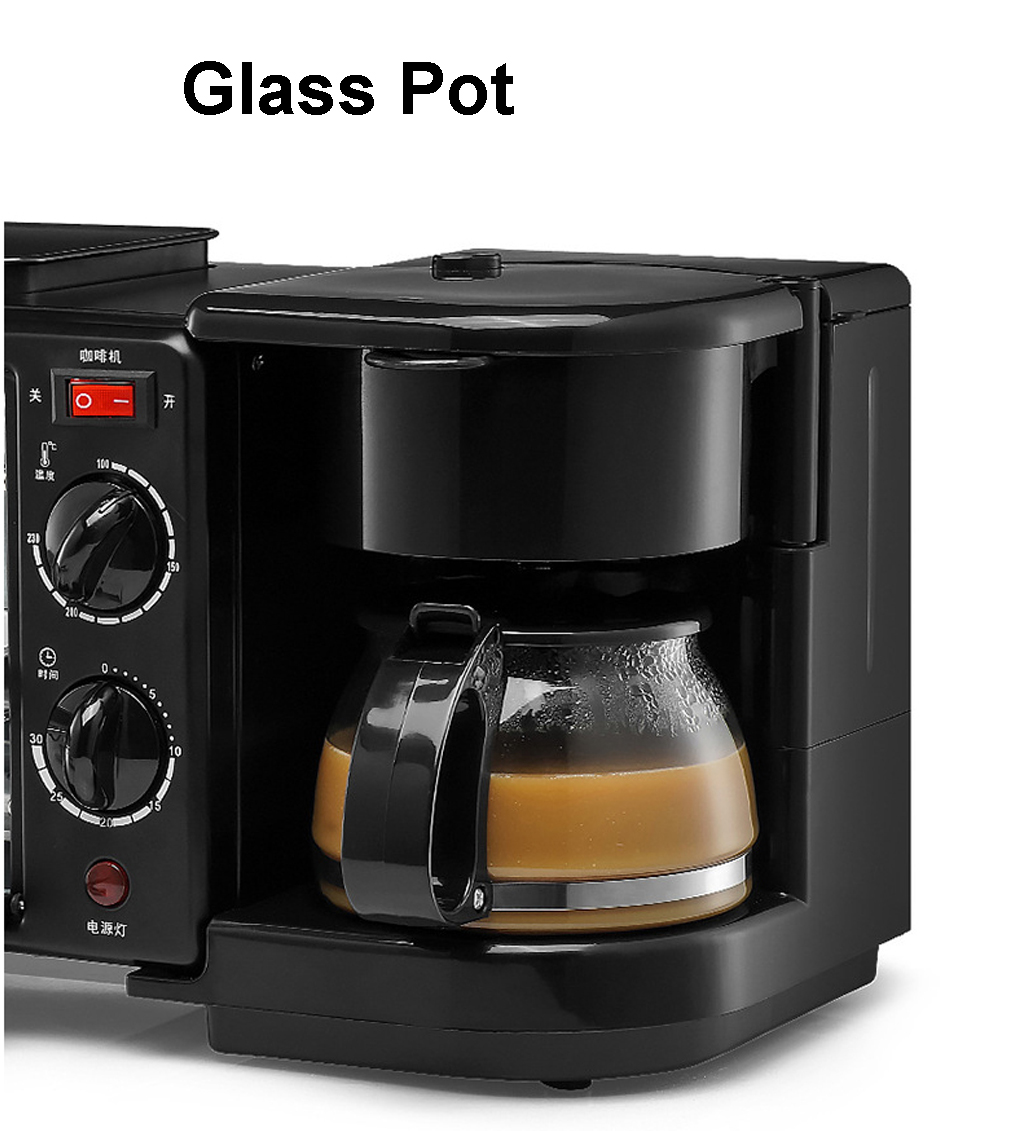 product description malaysia 3 pin plug 3 in 1 breakfast machine with toaster overrun. Black Bedroom Furniture Sets. Home Design Ideas