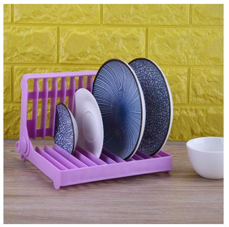 Groovy Foldable Dish Shelf Kitchen Plate Cup Organizer Storage Drying Rack Alphanode Cool Chair Designs And Ideas Alphanodeonline
