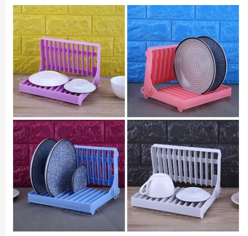 Incredible Foldable Dish Shelf Kitchen Plate Cup Organizer Storage Drying Rack Alphanode Cool Chair Designs And Ideas Alphanodeonline
