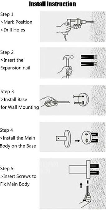 Shower Gel & Shampoo Dispenser (1000Ml)